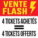 Vente Flash Packs Tickets