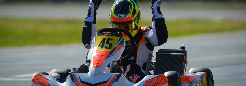 Karting, LAMMERS BAS, KZ2, NL, SODI / TM / BRIDGESTONE, Sodikart, WSK – Super Master Series, Sarno, Italie, International Race, © KSP Reportages